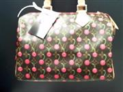 LOUIS VUITTON CHERRY CERISES MONOGRAM SPEEDY 25 HANDBAG